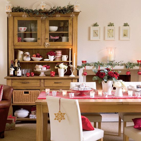 Country Dining Room Christmas Pinterest