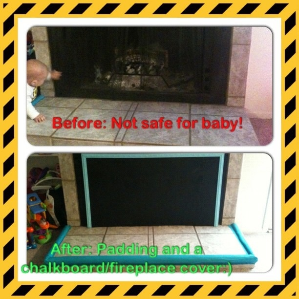 baby proofing the fireplace miles pinterest