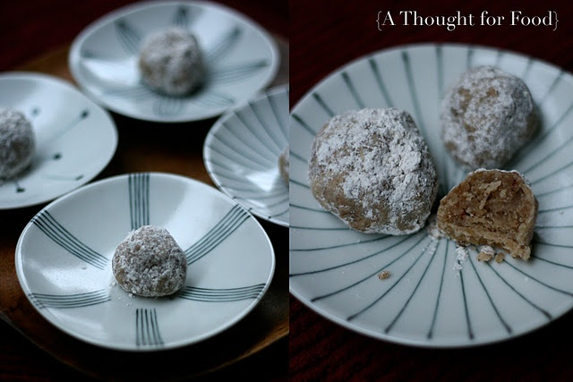 Roasted Chestnut Cookies | feature . C H E S T N U T | Pinterest