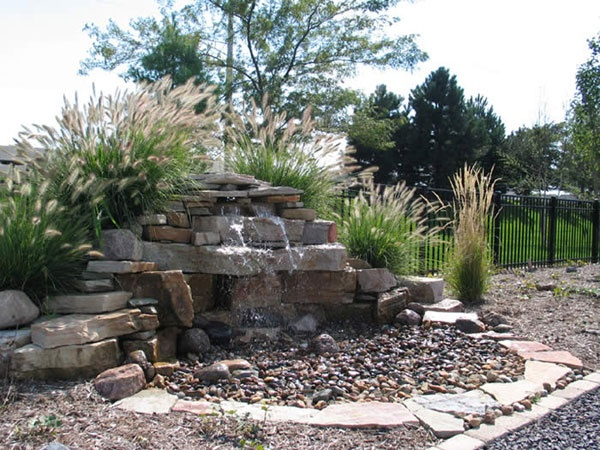 Pondless Water Feature Water Features Pinterest