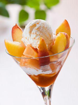 ... Peach Ice Cream Day is July 17 -- dairy-free peach ice cream recipe
