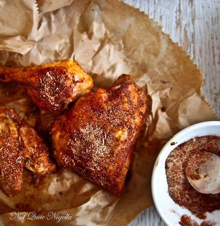 Brown Bag Cajun Chicken - from @Lorraine Elliott / notquitenigella.com