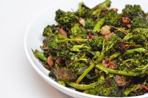 Roasted Bacon and Broccoli | ALL THINGS BACON | Pinterest