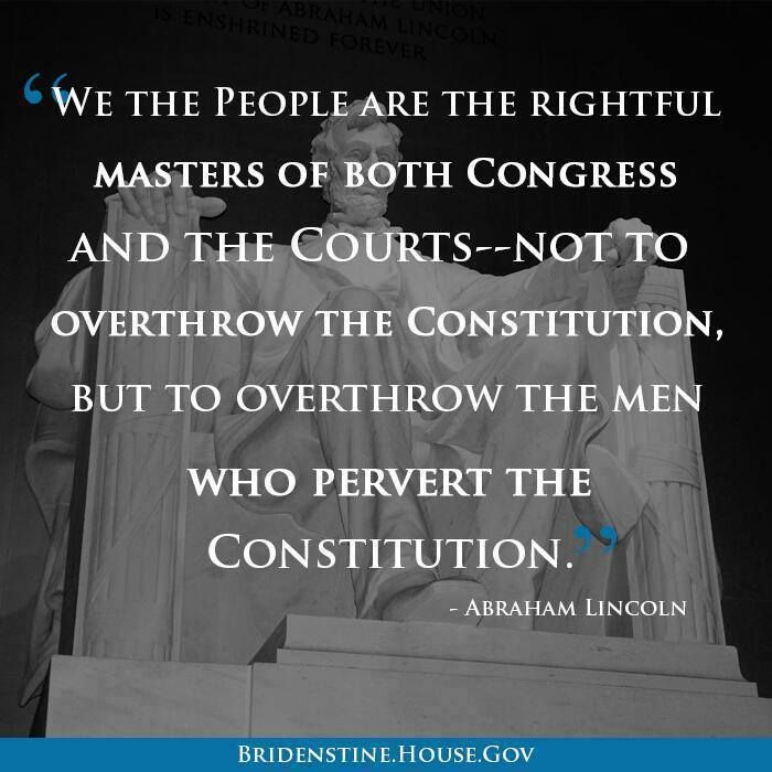 Abraham Lincoln We the People Quote
