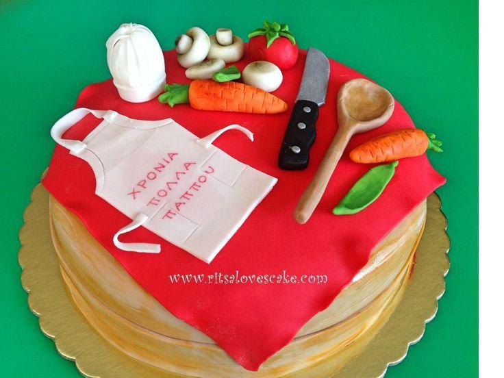 Birthday Cake Designs For A Chef : Chef cake Cake designs Pinterest