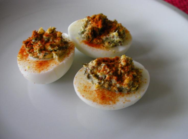 Smoky Deviled Eggs | Recipes - Eggs | Pinterest