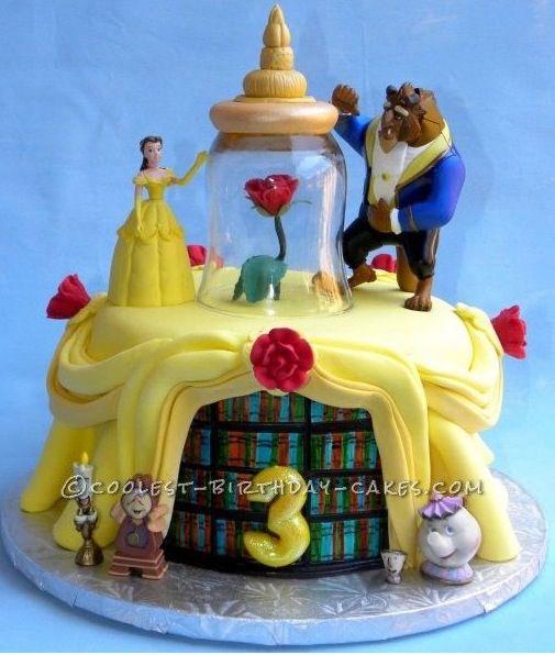 A princesses Belle cake