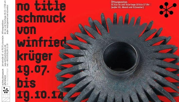 EXPO Winfried Kruger schmuck - 19-07--19-10 2014