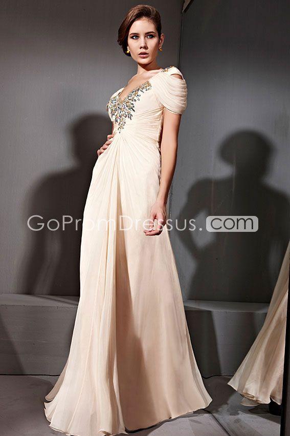 Short Sleeve Prom Dresses Pinterest 108