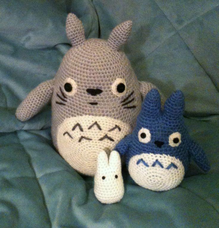 Amigurumi Totoro Ohje : Totoro amigurumi! My Amigurumi Pinterest