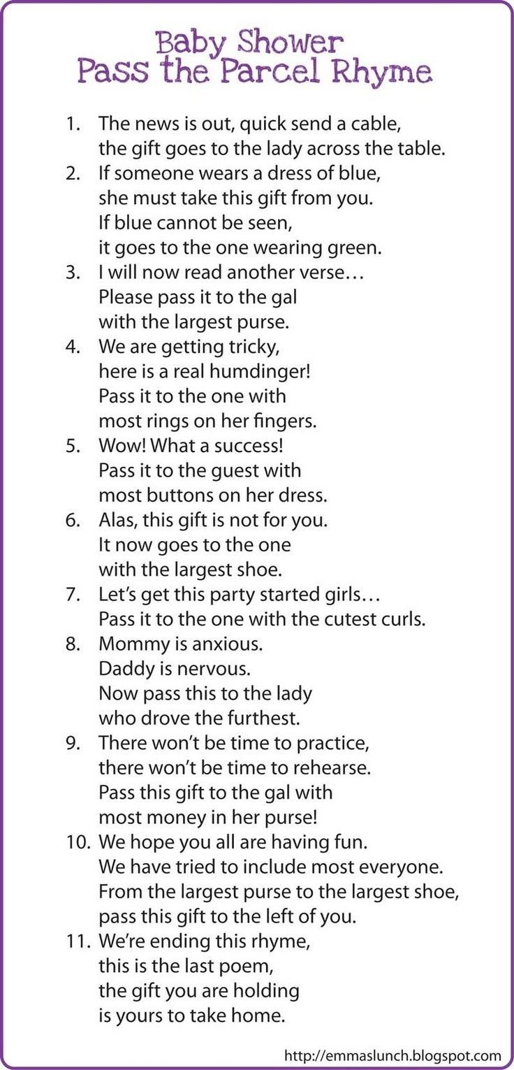 How to Play Pass the Parcel