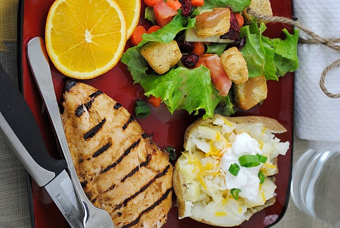 Grilled Orange Chicken | Recipes | Pinterest