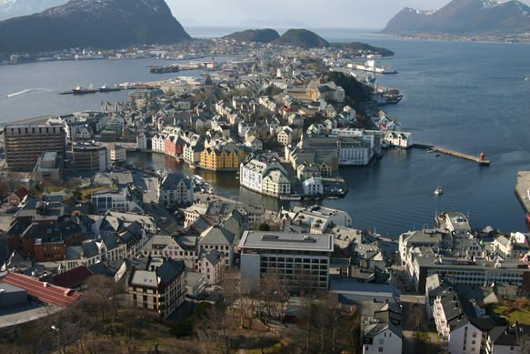 Stjordal Norway  city images : Ålesund Norway | Wanderlust~Europe | Pinterest