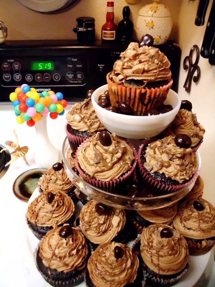 Cafe Mocha Cupcakes, chocolate coffee cupcakes with espresso infused ...