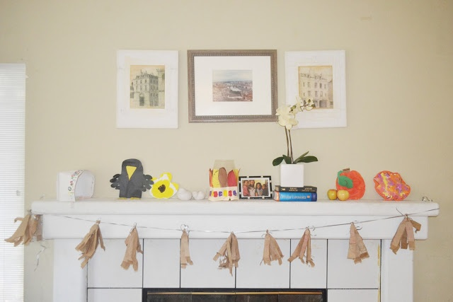 Brown Paper Bag DIY Tassel Garland