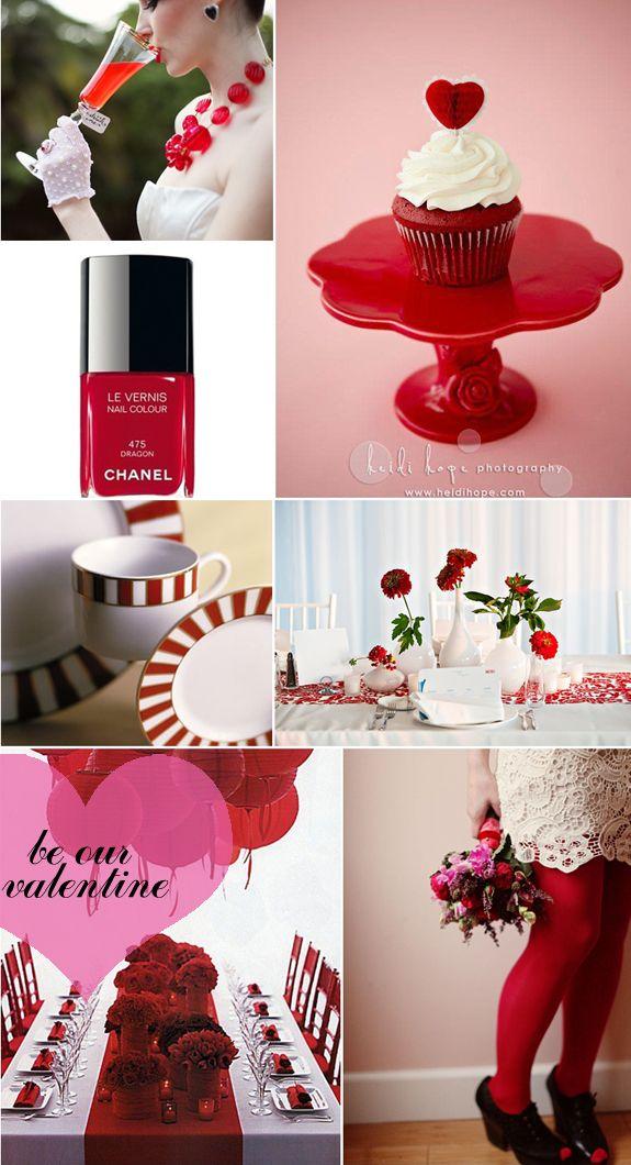 Red, Valentines Day @blisscelebrates | Sweet Indulgence | Pinterest