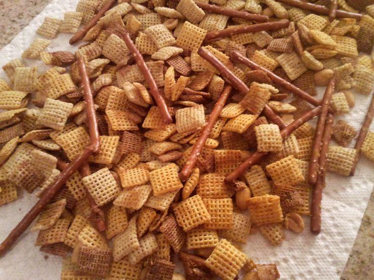 Original Chex Party Mix | Favorite foods | Pinterest