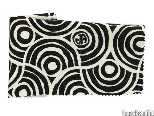 Cotton in Charcoal, by Jonathan Adler. kravet.com.