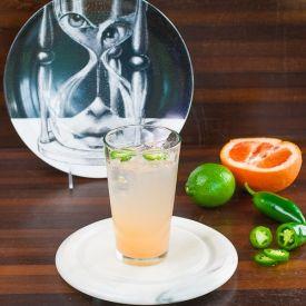 Lip Plump Punch - Tequila, Citrus and Jalapeño.