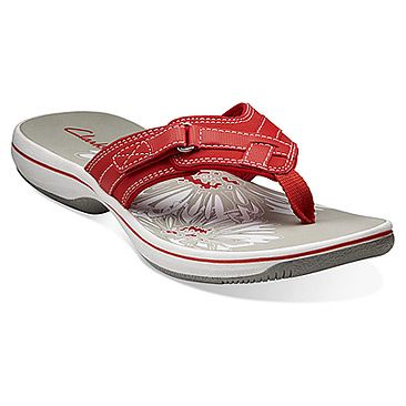 Clarks | Breeze Sea- Coral (also available in navy): Get beach-ready