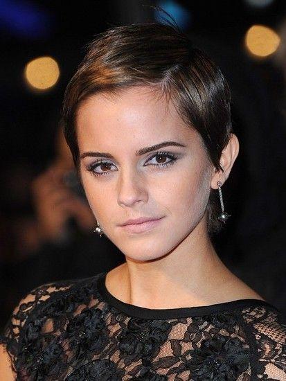 emma short hairstyle beauty pinterest