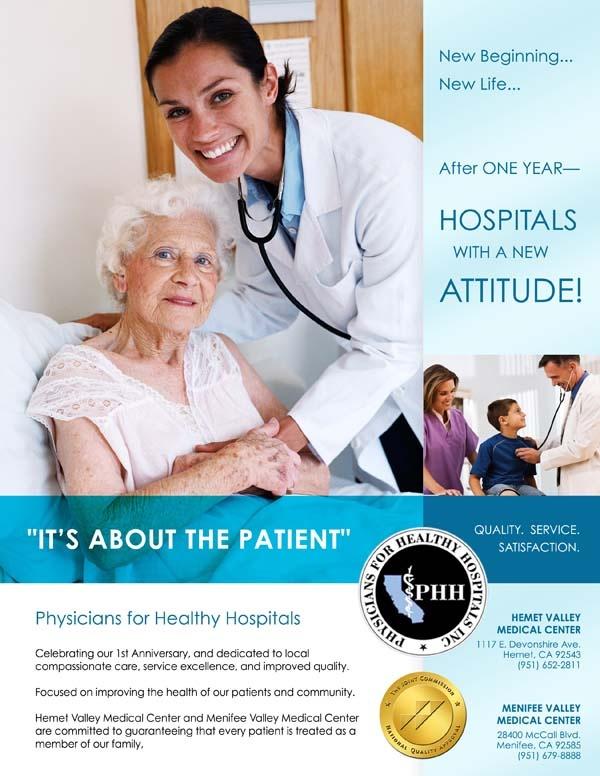 Phh Hospital Flyer Graphic Design Portfolio Pinterest