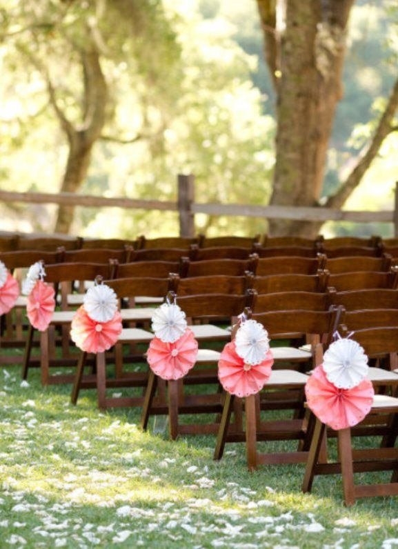 Unusual pretty aisle decorations backyard wedding for Backyard wedding decoration ideas