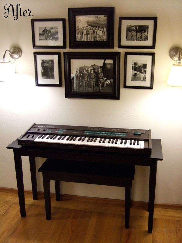 Keyboard stand diy for the home pinterest Keyboard stand and bench