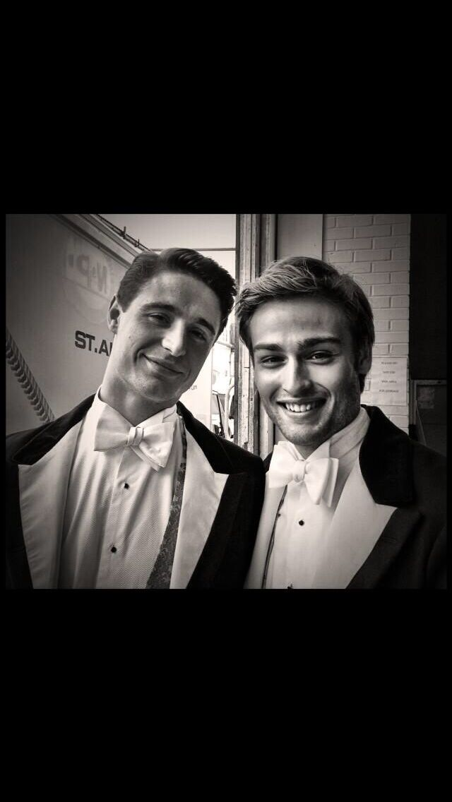 Max irons and Douglas ...