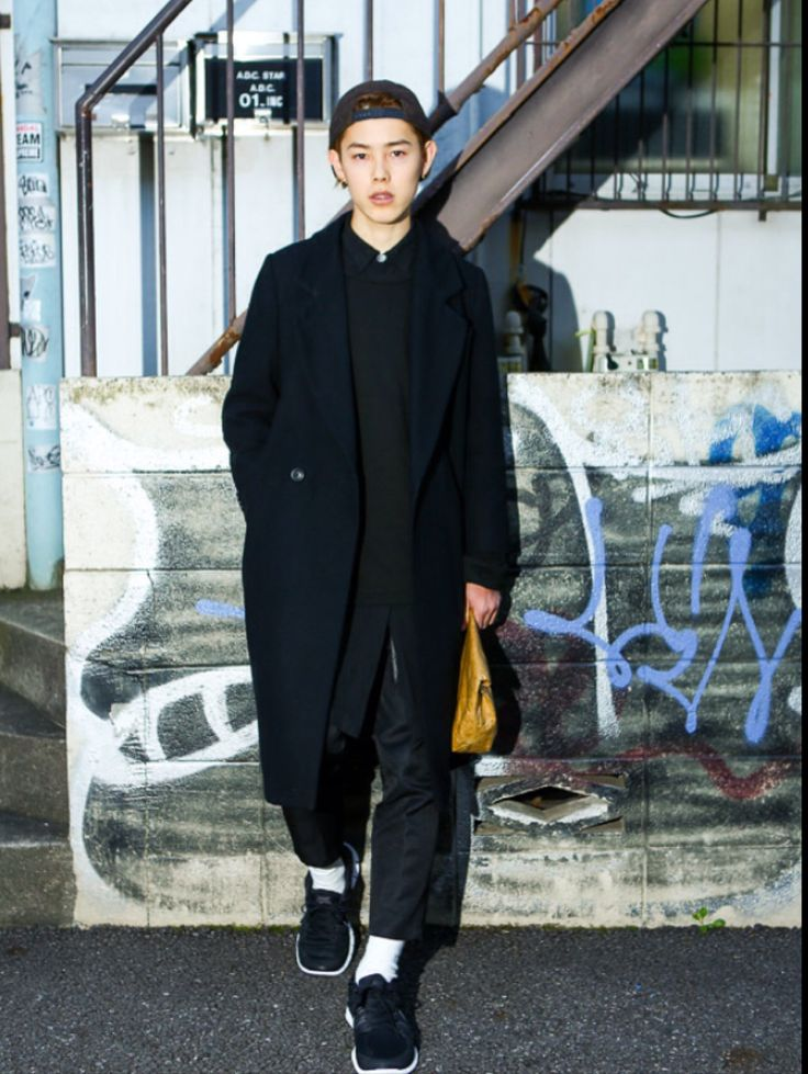 Japanese fashion mens clothing