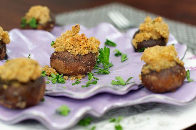 Amazing Shrimp Stuffed Mushrooms Recipe — Dishmaps