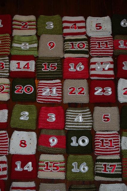 Advent Calendar Handmade Knitting : Knitted advent calendar christmas decor ideas pinterest