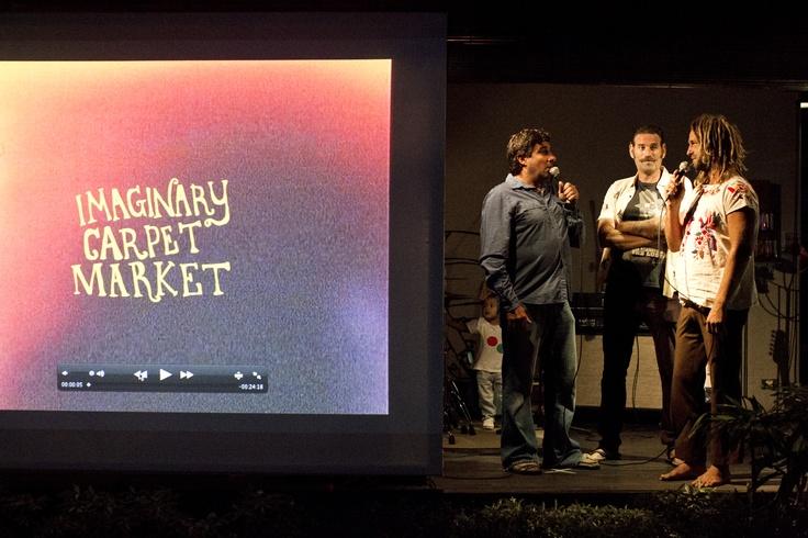 Imaginary Carpet Market Movie Premiere By Jack Coleman At