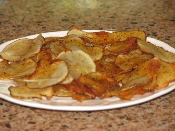 Oven-Fried Potato Chips With Thyme | Recipe