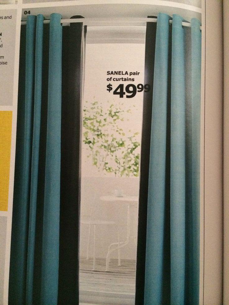 IKEA sanela curtains   My Apt Therapy   Ideas   Pinterest
