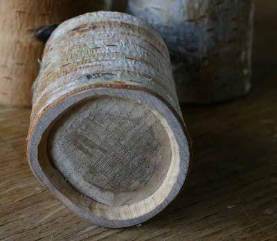 Birch wood crafts