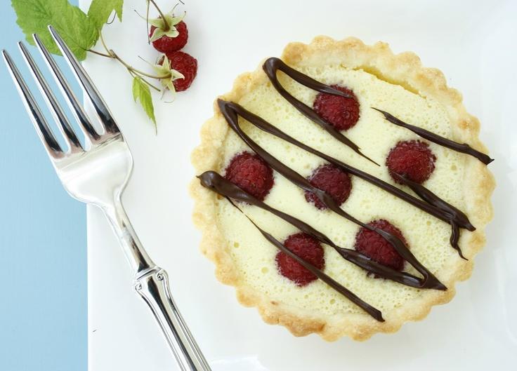 La Table De Nana: raspberry white chocolate tart