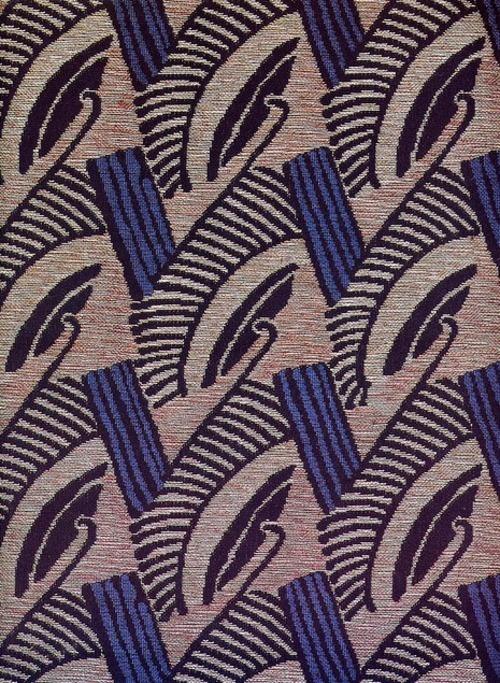 Art deco textile patterns papers fabrics pinterest for Art deco fabric