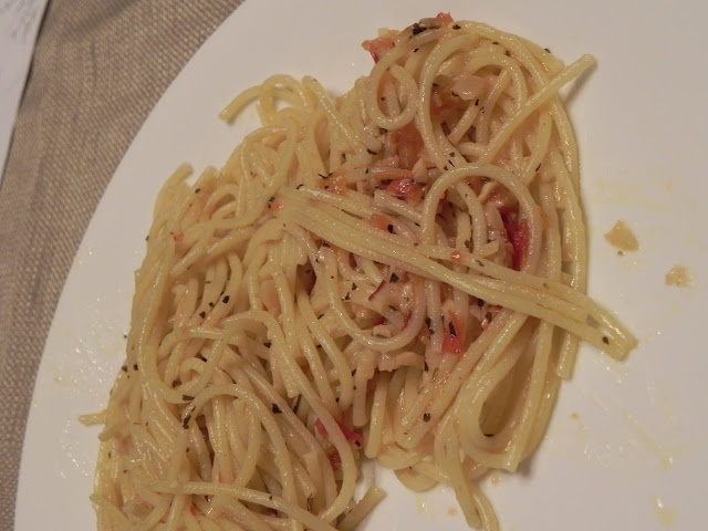 Spaghetti with Garlic and Oil | food | Pinterest