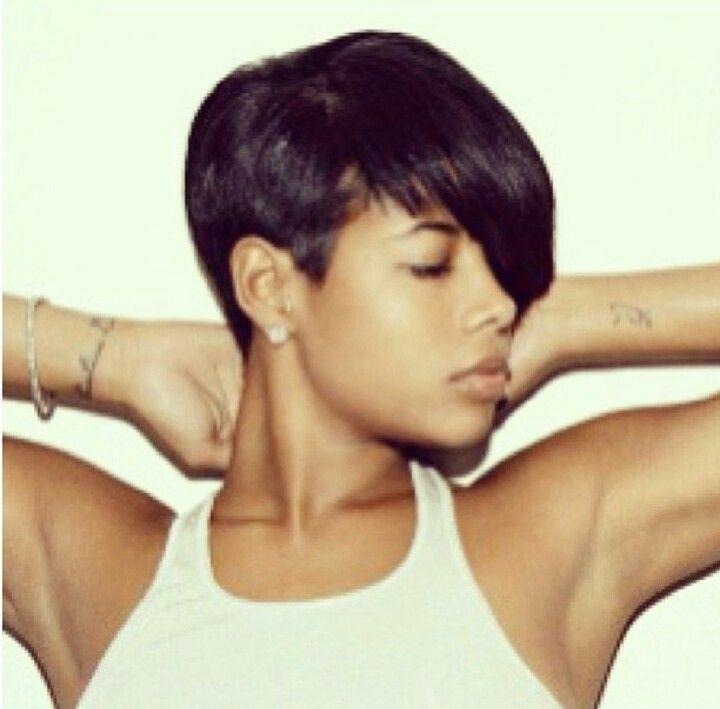 Kelis short cut hairst...