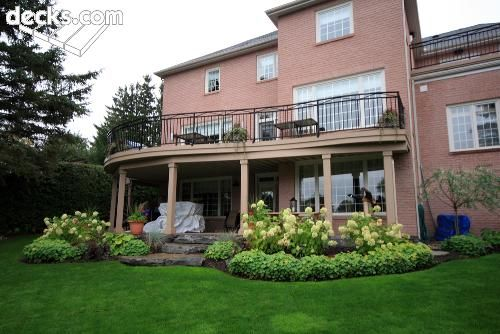 Images Of Landscaping Around Deck : Nice landscaping around the patio and