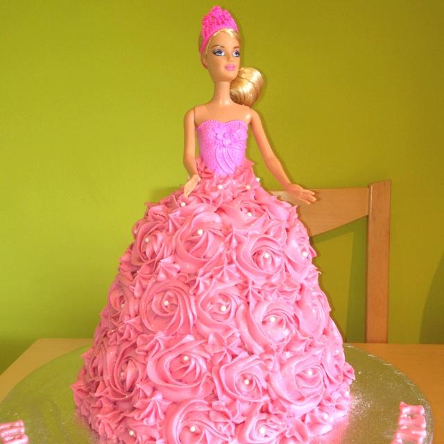Barbie Princess Cake Design : Barbie princess cake! Cake ideas Pinterest