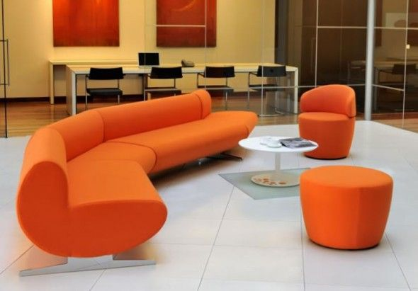 Modern Office Lobby Furniture Sofa Chairs Pinterest
