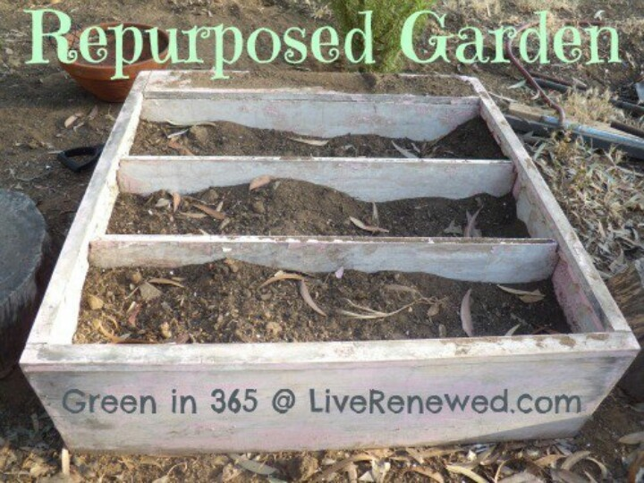repurposed garden gardening ideas pinterest