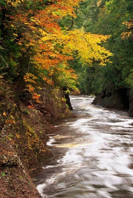 michigan upper peninsula waterfalls - photo #32