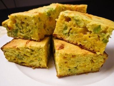 More like this: cornbread , broccoli cornbread and veggies .