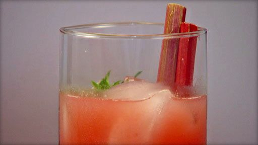 ... Lincoln Cafe in Mount Vernon, shares his recipe for Rhubarb Margarita