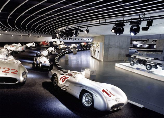 Mercedes Benz Museum, Stuttgart, Germany
