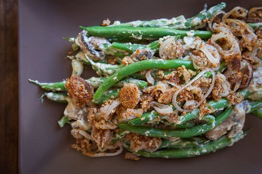 Vegan, Gluten Free, Grain Free and Paleo friendly Green Bean Casserole ...