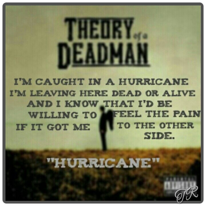 Theory of a Deadman - Hurricane by Roadrunner USA